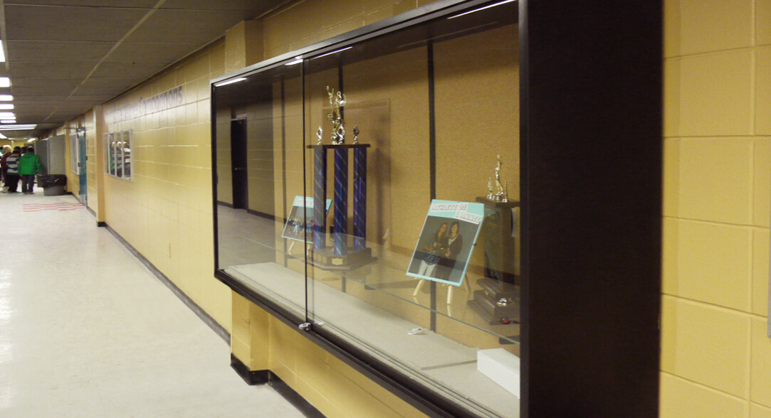 Series 680: Glass Display Cabinet