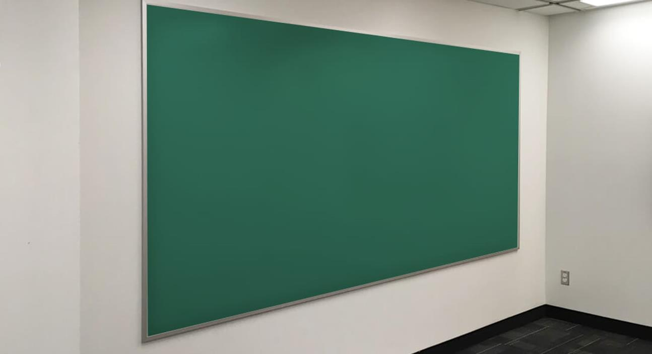 Chalkboard: Series 2000 in Green Porcelain